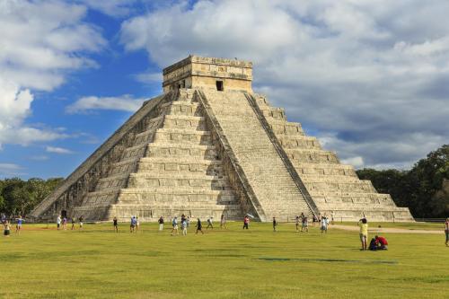Pyramid in Mexique